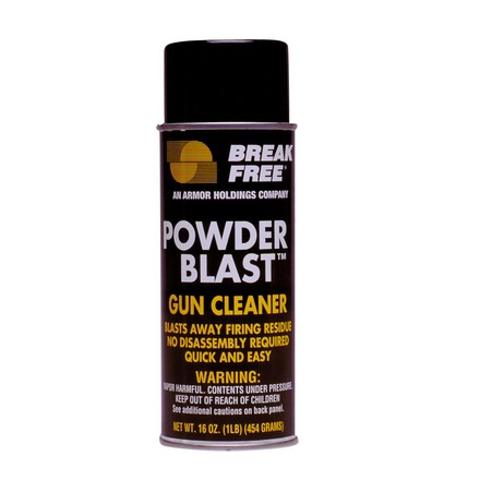 Powder Blast Gun Cleaner 12 Oz Aerosol