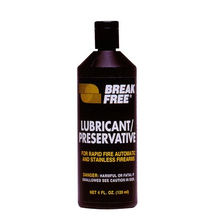 Break-Free Lubricant and Preservative for Rapid Fire Automatics 4 Oz