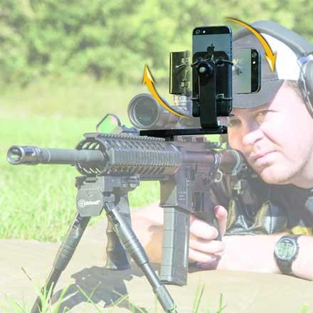 AR-15 Pic Rail Phone Mount