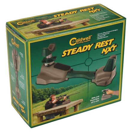 The Steady Rest NXT With Front and Rear Integral Bags