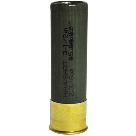 "10 Gauge Magnum Blend 3-1/2"" 2-3/8 Oz #5,6,7 Shot 5 Rounds"