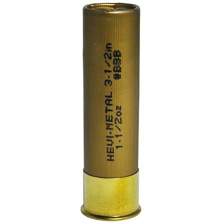 "12 Gauge Hevi-Metal 3-1/2"" 1-1/2 Oz BBB Shot 25 Rounds"