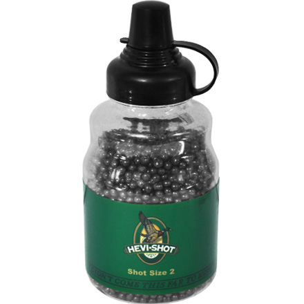 Hevi-Shot Pellets in 3 lb  Pourable Bottle 2 Shot