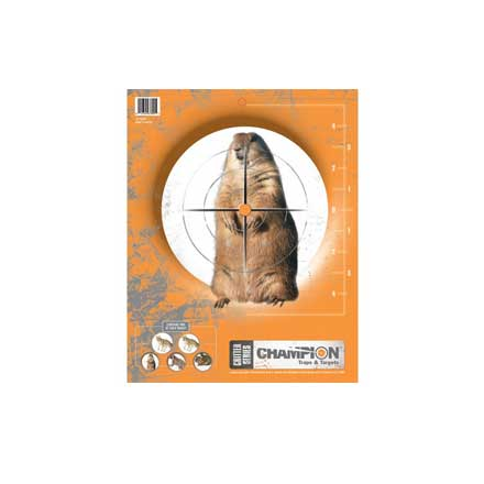 Champion Critter Series Targets 10 Pack
