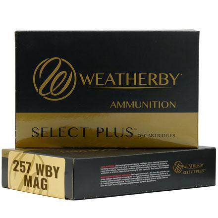 257 Weatherby Magnum Round 100 Grain Barnes Triple Shock ...