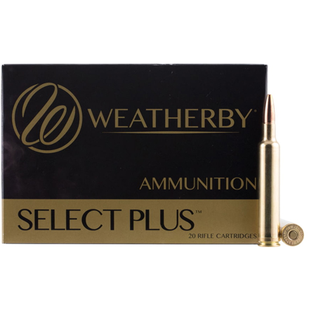 6.5 Weatherby RPM 140 Grain Hornady Interlock 20 Rounds