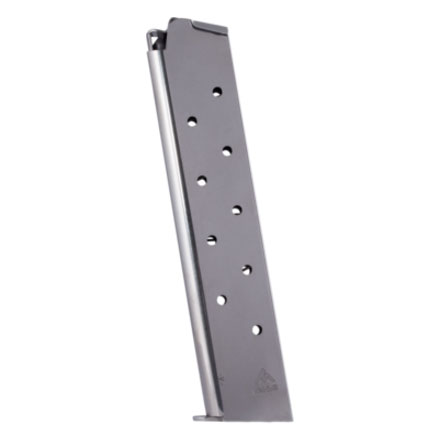 Colt 1911 45 ACP Nickel Finish 11 Round Magazine (Extended)