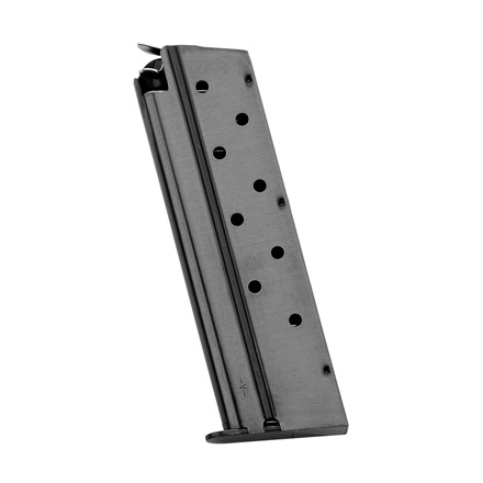 1911 10mm Blued Finish Standard 8 Round Magazine