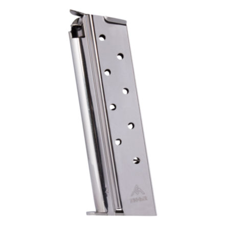 1911 10mm Nickel Finish Standard 8 Round Magazine