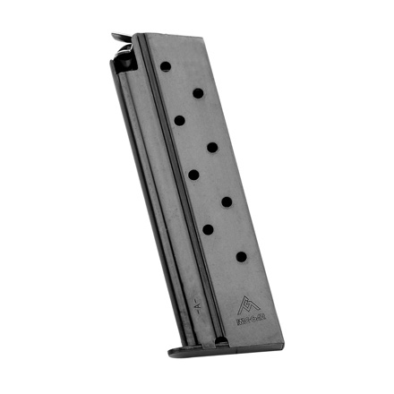 1911 38 Super Blued Finish Standard 9 Round Magazine