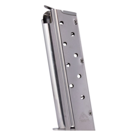 1911 9mm Nickel Finish Standard 9 Round Magazine