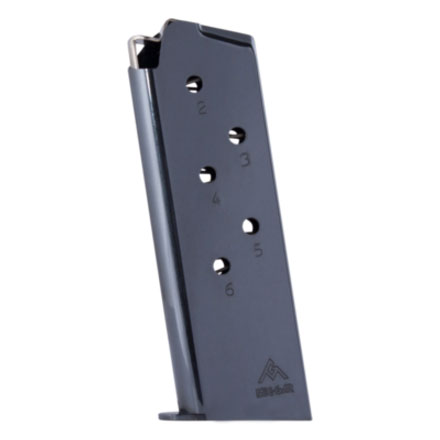 Colt Officers Model 45 ACP Blued Finish 6 Round Magazine