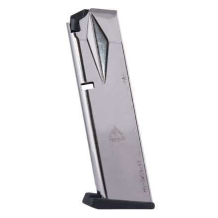 S&W 5900 Series 910/915 9mm Flush Fit Nickel Finish 17 Round Magazine (High Capacity)