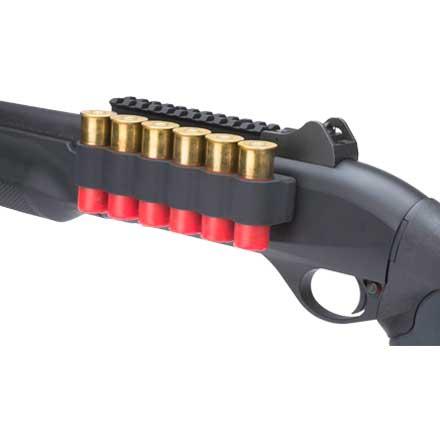 12 Gauge TacStar Tactical Accessories 4-Pack Shot Shell Carrier Benelli Nova Side Saddle