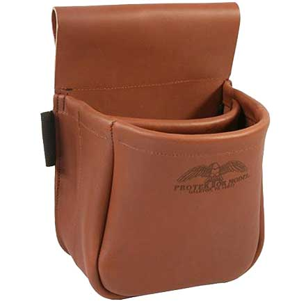 Trap/Skeet Shooter Top Grain Leather Shell Bag