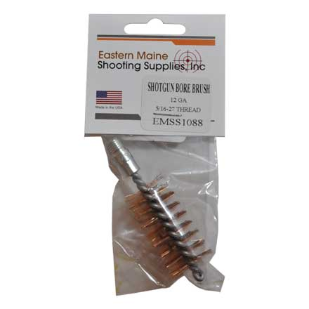 "12 Gauge Phosphor Bronze Brush 5/16-27"" Thread"