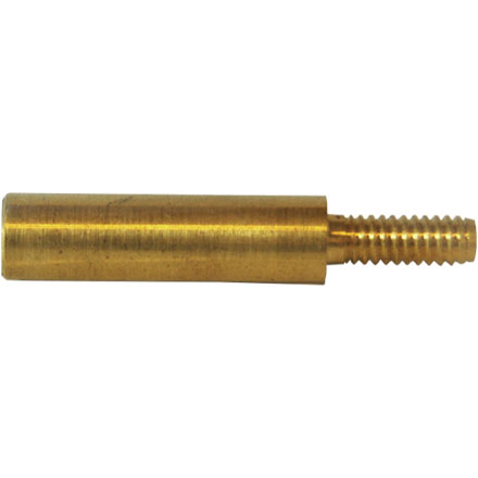 "5/40"" Male To 8/32"" Female Brass Adapter Converts 17 Caliber Rod Up To 22 Caliber"