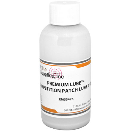 Premium Competition Patch Lube 4 Oz Bottle