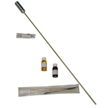 AR-15/M16 Cleaning Kit 2 Piece Rod Self Contained In A Reusable Tube