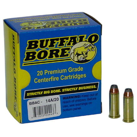 Image for 44 Special 180 Grain Jacketed Hollow Point 20 Rounds