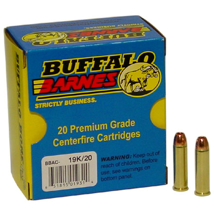 Image for 357 Magnum 140 Grain Barnes XPB 20 Rounds