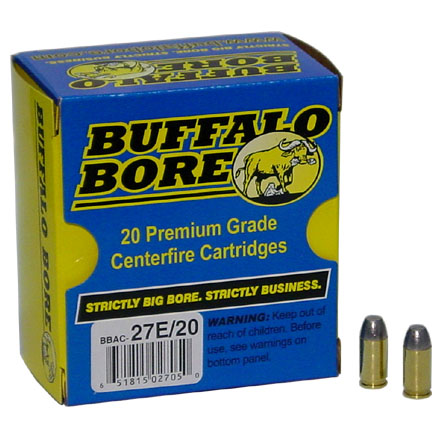 Image for 380 Auto 100 Grain Hard Cast Flat Nose 20 Rounds