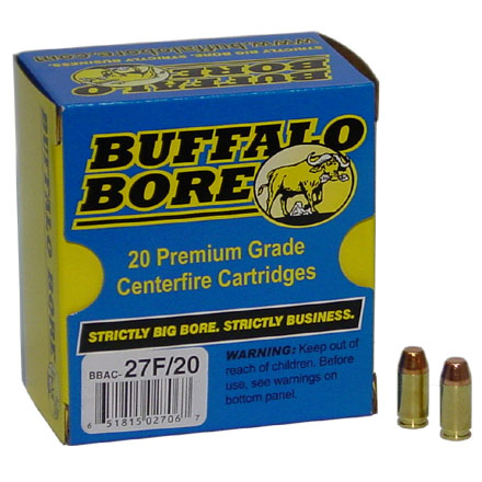 Image for 380 Auto 95 Grain Full Metal Jacket Flat Nose 20 Rounds