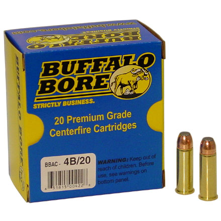 Image for 44 Magnum 300 Grain Jacketed Flat Nose 20 Rounds