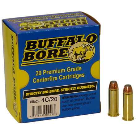 Image for 44 Magnum 270 Grain Jacketed Flat Nose 20 Rounds