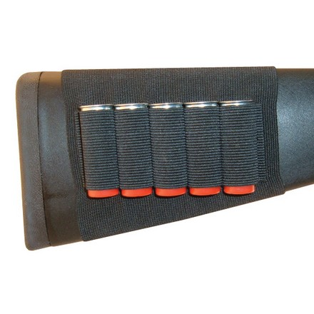 Buttstock Shell Holder-Shotgun Open Style