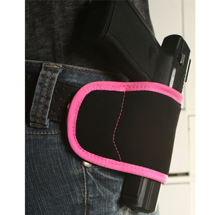 Multi-Fit Holster RH Size 99 Medium and Large Frame Pistols Black/Pink