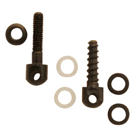"Screws Only - One 7/8"" Machine Screw Swivel Stud & Nut. OEM 3/4 "" Wood Screw"