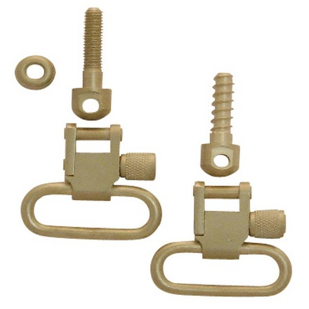 "Image for 1"" Nickel Swivel Set With 7/8"" Machine Screw & 3/4"" Wood Screw"