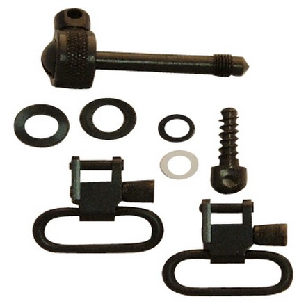 "1"" Swivel Set With Adapter Bolt & 3/4"" Wood Screw For Remington 7400"