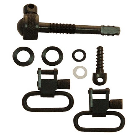 "1"" Swivel Set With Adapter Bolt & 3/4"" Wood Screw For Remington 742 ADL"