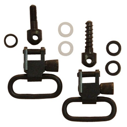 "Image for 1"" Swivel Set With Machine Screw & 3/4"" Wood Screw For Winchester 70A"
