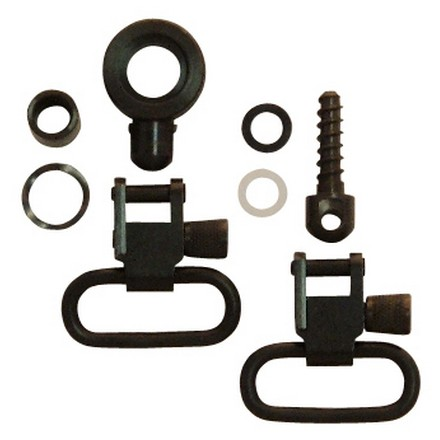 "1"" Swivel Set For Browning BLR & 3/4"" Wood Screw For Buttstock"