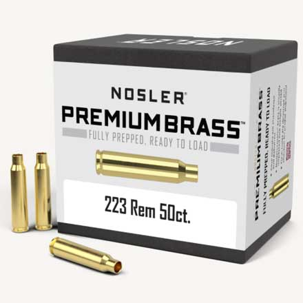223 Remington Unprimed Rifle Brass 50 Count
