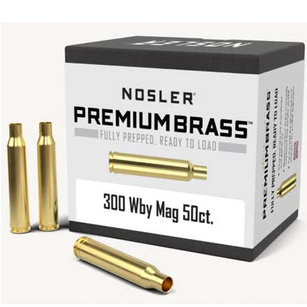 300 Weatherby Unprimed Rifle Brass 50 Count