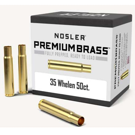 35 Whelen Unprimed Rifle Brass 50 Count
