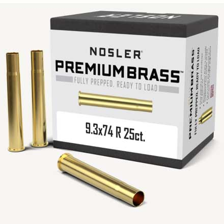 9.3x74 Rimmed Unprimed Rifle Brass 25 Count