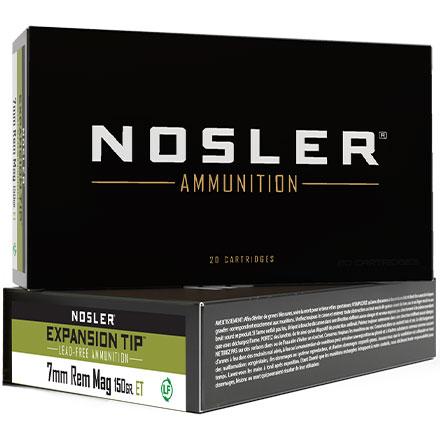 7mm Remington Mag 150 Grain E Tip 20 Rounds