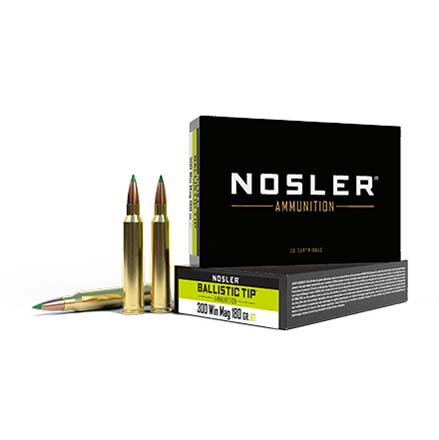 300 Winchester Mag 180 Grain Ballistic Tip 20 Rounds