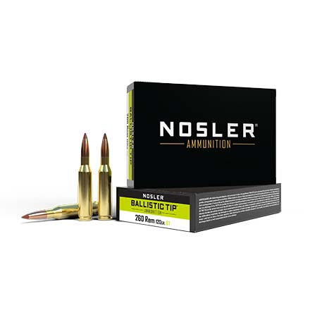 260 Remington 120 Grain Ballistic Tip 20 Rounds