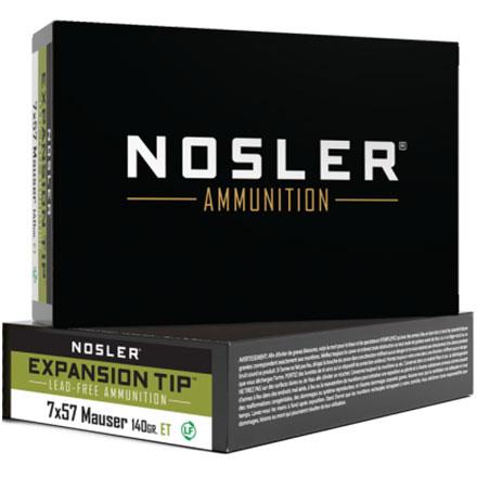 7x57 Mauser 140 Grain E-Tip 20 Rounds