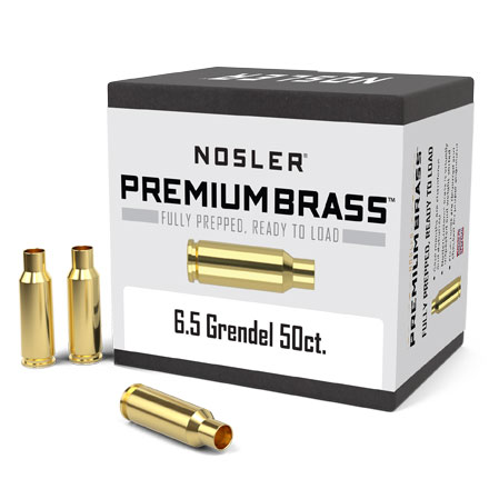 6.5 Grendel Unprimed Rifle Brass 50 Count