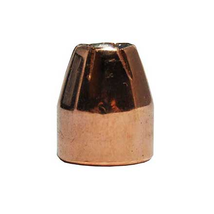 45 Caliber .451 Diameter 185 Grain Jacketed Hollow Point Bulk Custom Comp 1000/Case