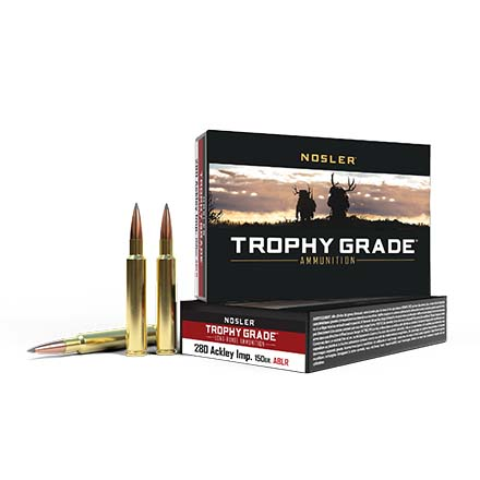 280 Ackley Improved 150 Grain Long Range AccuBond 20 Rounds