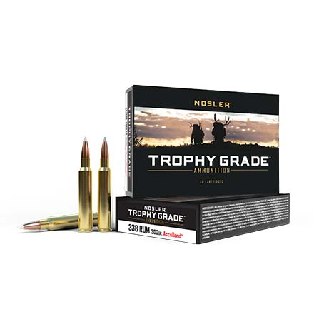 338 RUM 300 Grain Long Range AccuBond 20 Rounds