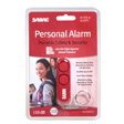 Personal Alarm 110 DB Siren Audible up to 300 Feet (Red)
